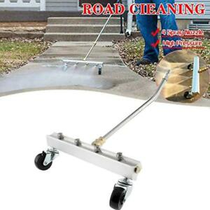 Pressure Washer Undercarriage Cleaner,  Auto Chassis/Under Car Washer w 45° Wand