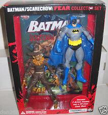 #8589 NRFB Batman Scarecrow Fear Action Figure Collectors Set