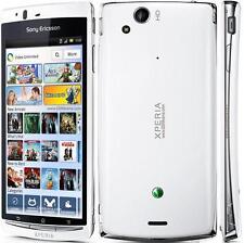 "Original Sony Ericsson XPERIA Arco S teléfono inteligente 4.2"" LT18 GSM blanco puro"