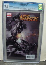 DARK AVENGERS #9 cgc 9.8 2nd Printing VARIANT Cover