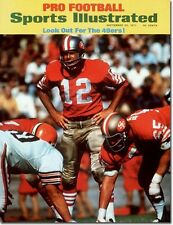 September 20, 1971 John Brodie Football San Francisco 49ers Sports Illustrated