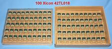 100 Xicon 7K to 10K Signal Coupling Audio Transformer TL018 Center Tap Leads