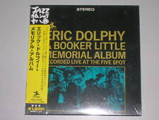 Eric Dolphy &Booker Little Memorial Album live at the five spot JAPAN mini lp CD