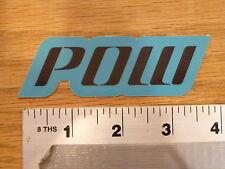 POW Gloves Blue Sticker Decal