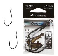 WALLERHAKEN, WELSHAKEN, RAUBFISCH HAKEN, BIG CATFISH POWER HOOKS BLACK NICKEL