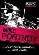 MIKE PORTNOY TERRY BOZZIO ART OF DRUMMING NEW DRUM DVD