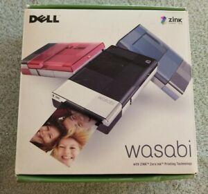 Dell Wasabi PZ310 Mobile Thermal Printer, Black