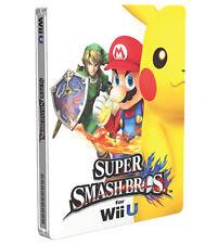 Super Smash Bros. Wii U Steelbook G2 CASE (NO GAME) | Nintendo | New, sealed