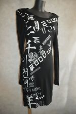 ROBE KENZO JEANS  TAILLE L/40 BLACK DRESS/KLEID/AVITO/VESTIDO BE
