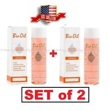 SET of 2 Bio Oil for Skin SCARS STRETCH MARKS UNEVEN SKIN TONE 200 ml