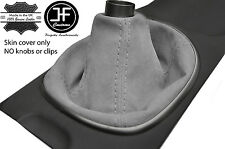 GREY REAL SUEDE MANUAL SHIFT BOOT FITS ACURA RSX TYPE S TYPE R 02-06