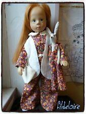 vêtement compatible poupée Gotz Hannah  Zwergnase, Fanouche 50 cm