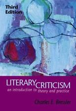 Literary Criticism: An Introduction to Theory and Practice-ExLibrary