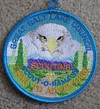 BOY SCOUT embroidered patch 1998 Trail to Adventure GSLC BALD EAGLE