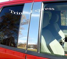 2005-2010 Honda Odyssey 4Pc Chrome Pillar Post Stainless Steel