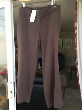Size 16 Evans Brown Essence Trousers Still With Tags
