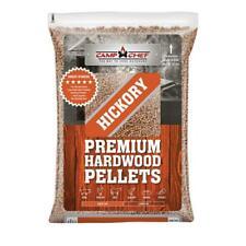 Wood Pellets 20 lb. Hickory Hardwood Grill BBQ Smoker Real All-Natural Smoking