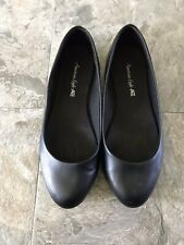 Amerian eagle By Payless Women Black Flats Size 6.5 W Shoes