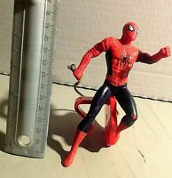 SPIDER-MAN ⭐'Swinging' ⭐ FIGURE WITH MOVABLE ARMS⭐ 5'' figure/12'' hung(total)