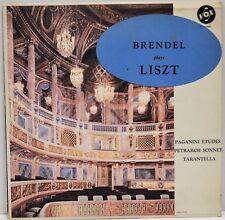 """""""Brendel Plays Liszt"""" Vox PL 10.800 """"Paganini Etudes"""" Vinyl LP"""