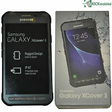 NEW SAMSUNG GALAXY XCOVER 3 8GB SM-G389F DARK SILVER FACTORY UNLOCKED 4G SIMFREE