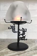 PartyLite Shadowdancers Ghost Tealight Lamp P7797, Total Fun • Nib • 100% Mint!