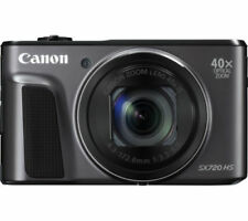 Canon PowerShot SX720 HS Superzoom Compact Camera Black
