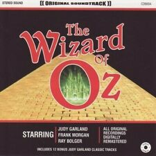 THE WIZARD OF OZ - JUDY GARLAND - ORIGINAL SOUNDTRACK  (NEW SEALED CD)