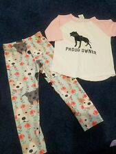 2t/3t Girls Pitbull Leggings/top