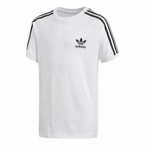 adidas Originals junior white trefoil T shirt. Sports top. Various sizes!