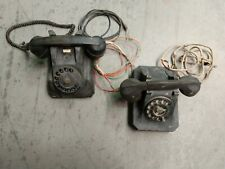 Old Telephone Rotary Lot 1940's 1950's