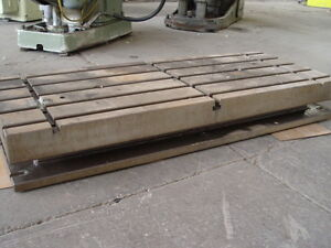 Machine Table T Slotted 1500 mm x 600 mm x 200 mm