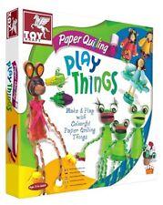 Toy Kraft Create Mini Models w Paper Quilling! Children Creative Craft Kit Toy!