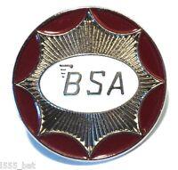 BSA Classic 1960s British Biker Motorbike Ton Up Boy Metal TT Motorcycle Badge