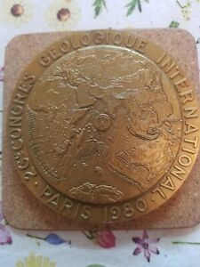 26 th International Geological Congress Medal