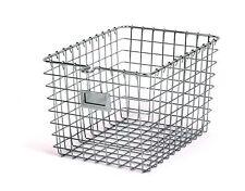 Wire Storage Fruit Basket Organizer Metal Kitchen Bin Home Shelf Baskets Chrome