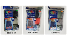 *Nip- Fruit Of The Loom - Men'S 3 Knit Boxers - Assorted Colors