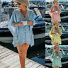 Women's Beachwear Swimwear Bikini Beach Wear Cover Up Kaftan Ladies Summer Dress