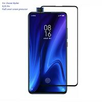 For Xiaomi Redmi K20 Pro 3D Black Full Cover Tempered Glass Screen Protector