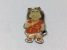 Muppets Miss Piggy Red Dress Lapel Hat Pin