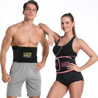 HOT Fajas Reductoras Adelgazantes para Hombre y Mujer Faja Lumbar de Cintura US