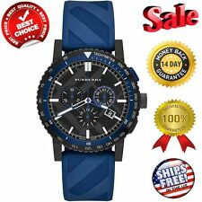 100% Authentic New Burberry Men 42mm The City Sport Chronograph Watch BU9807