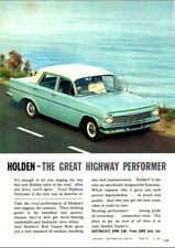 """1964 EH HOLDEN SPECIAL AD A1 CANVAS PRINT POSTER FRAMED 33.1""""x23.4"""""""