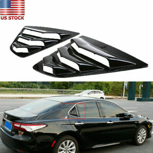 Fit for 2018-2019 Toyota Camry Sedan Rear Side Window Louver Sun Shade Covers US