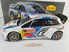 VOLKSWAGEN POLO R WRC RALLY MONTE CARLO S. OGIER 2014 ALTAYA ESCALA 1:18