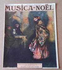 Revue : MUSICA-NOEL 1er décembre 1909 N° 87