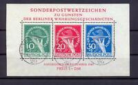 Berlin Block 1 II Währungsgeschädigte gestempelt tiefst geprüft Schlegel (vs332)