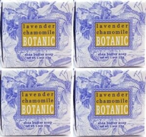 Greenwich Bay Trading 1.9oz Soap - Lavender Chamomile, Set of 4 (R5H007)