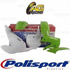 Polisport Plastics Box Kit For Kawasaki KX 65 Green 05 White Colours 2000-2018
