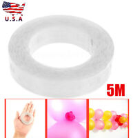 17Ft Balloon Chain Tape Arch Connect Strip for Wedding Birthday Party Decor#US